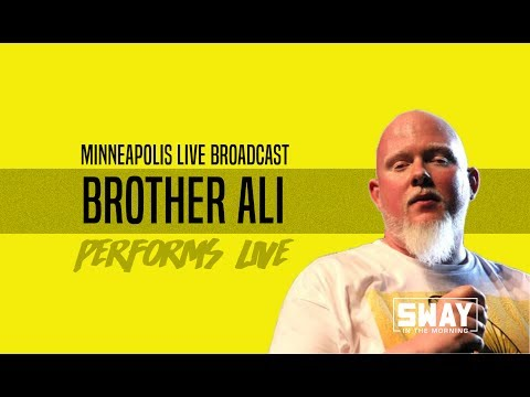 """Live in Minneapolis: Brother Ali Talks Hip-Hop & Performs """"Dear Black Son"""" Live"""