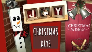 DIY CHRISTMAS DECOR!!!