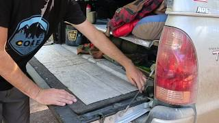 Truck Camping: How to Minimize Dust In Your Topper