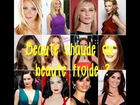 B.A.-ba Beauté : Quel maquillage et pour qui ? Es-tu une beauté chaude ou une beauté froide ?