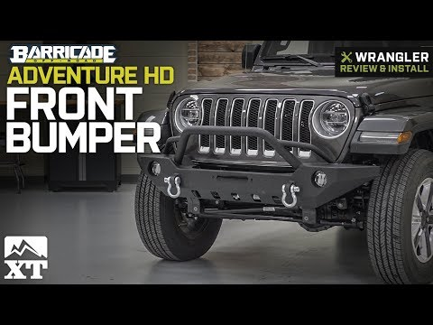 Jeep Wrangler Barricade Adventure HD Front Bumper (2018 JL) Review & Install