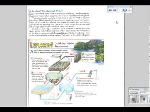 Lesson 7: A Renewable Resource: H2O