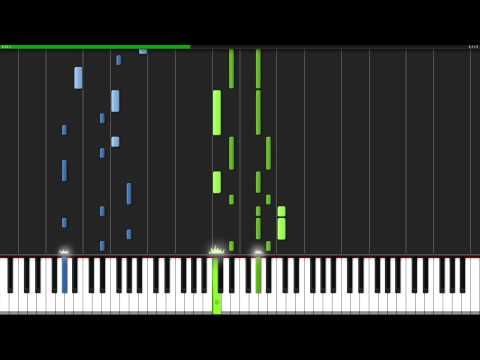 Linus and Lucy  Peanuts Piano Tutorial Synthesia