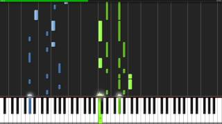 Linus and Lucy - Peanuts [Piano Tutorial] (Synthesia)