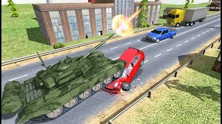 Tank Traffic Racer - Android Gameplay HD