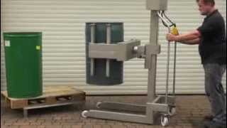 Barrel Drum Lifter And Tipper 100kg Capacity Manual Handling Solutions