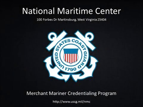 National Maritime Center: CG-719B Merchant Mariner Application