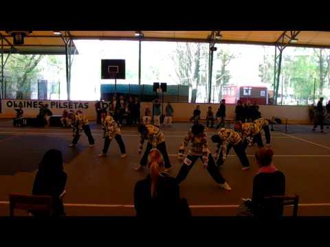 Open Latvia Streetdance Cup 2011 Olaine Small group-Energy