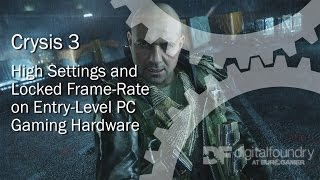The Best Crysis 3 Gameplay Experience on Pentium G3258 Budget PC