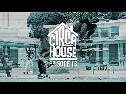 Jimmy Carlin, David Gravette & Taylor Kirby Check out Thrasher and Soma Park - C1RCA House ep 13