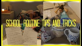 School Morning & Night Routine Time Saving Tips // Camsglam