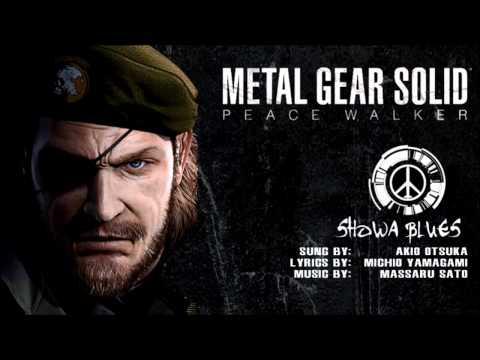 Metal Gear Solid Peace Walker - Showa Blues
