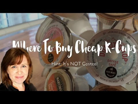Where To Buy The Cheapest K-Cups -- It's Not Where You Think!