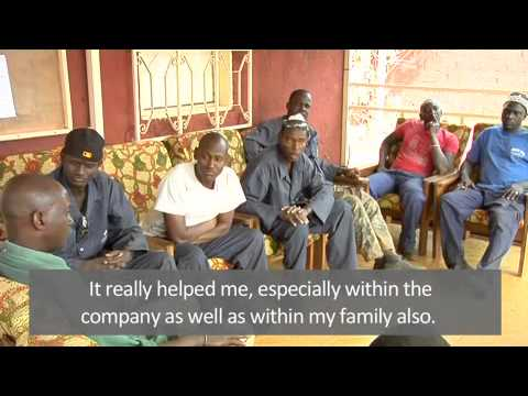 Reaching workers in the formal and informal mining settings of Senegal