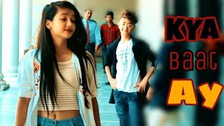 Kya baat ay hardy sandhu | School Love Story Video | Rahul Aryan & Amrita | AI CREATION