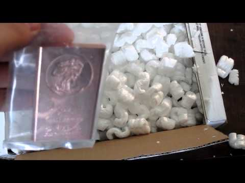 Precious Metals House Unboxing (Silver, Copper Bullion)