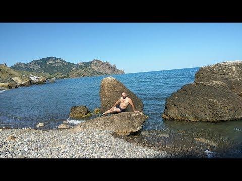 Драгоценные камни и красоты на берегу Чёрного моря  Возле Курортного 03 06 2017
