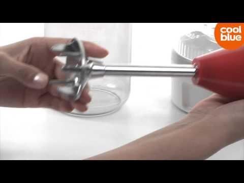 Bamix Swissline M200 Swiss Cross Staafmixer videoreview en unboxing (NL/BE)