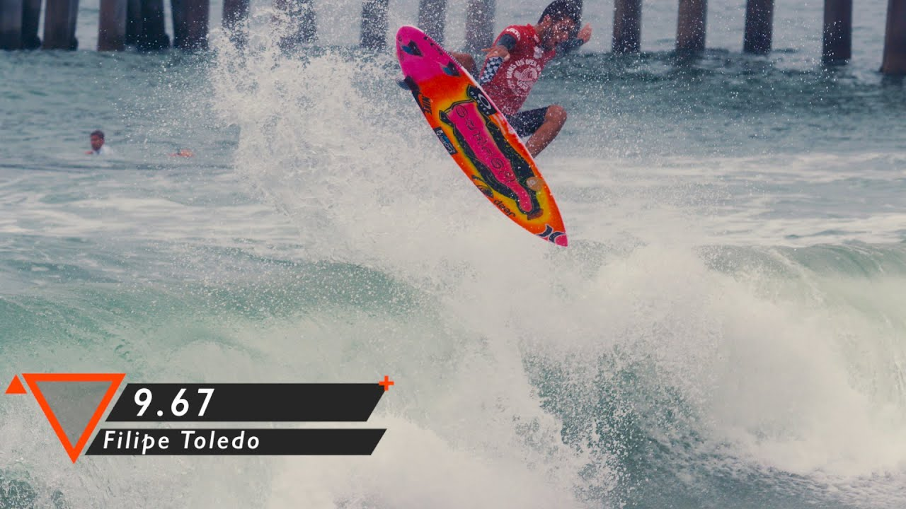 adcd0d1041 Filipe Toledo at Vans US Open of Surfing 2015 - YouTube