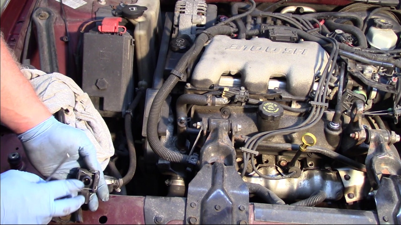 Coolant Level Sensor Replacement  GM 3100  YouTube