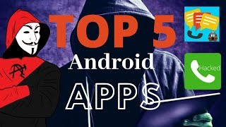 Top 5 Andoid Apps ( Hacking Apps ) Hidden apps in playstore |Private apps