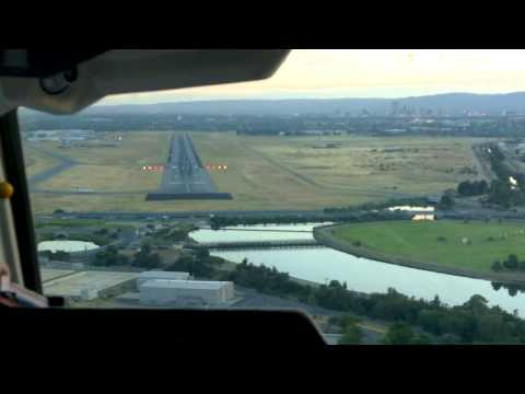 Landing In Adelaide Airport In The Morning - Awesome! :)