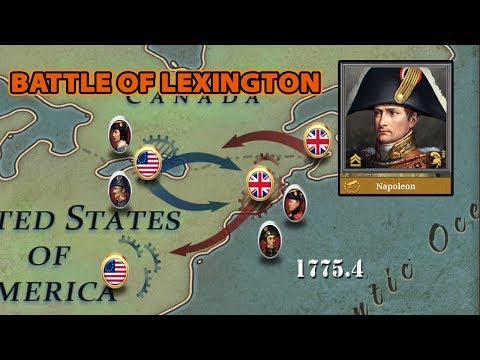 Battle of Lexington [DECLARATION OF INDEPENDENCE] EW6