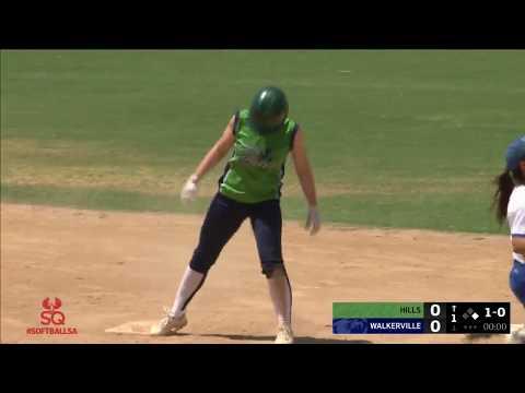Walkerville vs Hills | Softball SA | LIVE
