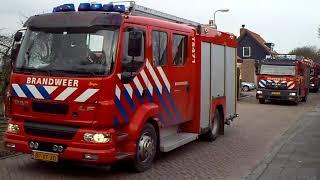 Archief PRIO 1TS47-1 TS46-1 AL46-1 Naar gebouwbrand Ridderkerk Pruimendijk