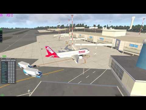 [X-Plane 11] SBSV - SBBR | Salvador - Brasília | TAM3995 a320 Neo