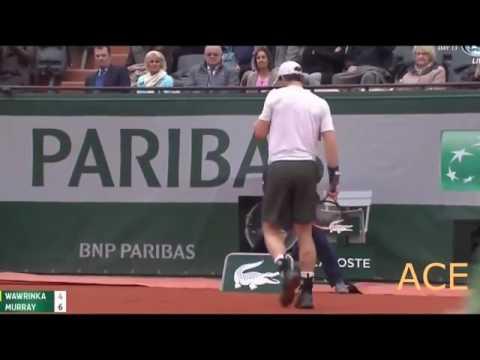 Andy Murray vs Stan Wawrinka  Roland Garros/semi final 2016 full Highlights HD