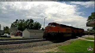 Railstream Railcam Series #71- Coal City, IL (8/26/2016)
