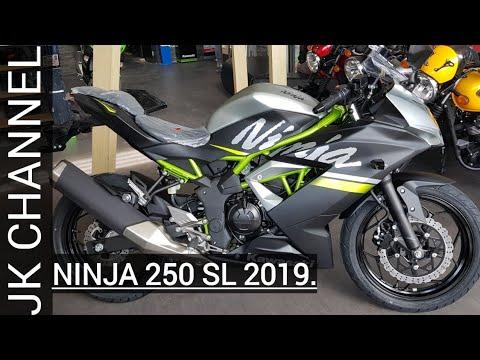 смотрите сегодня Kawasaki Ninja 250 Sl 2019 368jt Warna Baru