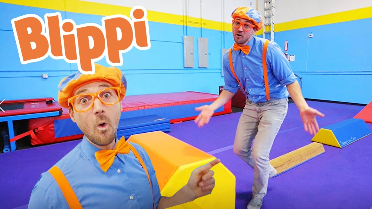 Blippi Learns Circus Tricks | Fun and Educational Videos For Kids | Kids Tv Shows