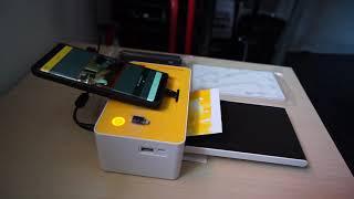 [코닥 PD-450W] 포토프린터, 집에서 사진관 처럼…