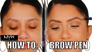 Download lagu *NEW* NYX LIFT & SNATCH BROW TINT PEN + ALL DAY WEAR & HOW TO USE BROW PENS | MagdalineJanet