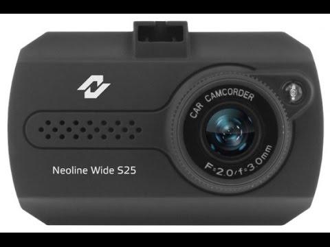 Бюджетный видеорегистратор Neoline Wide S25