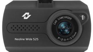 Бюджетный видеорегистратор Neoline Wide S25(Сегодня на обзор к нам попал компактный видеорегистратор фирмы Neoline. Из плюсов его размер и цена..., 2016-02-22T22:41:11.000Z)