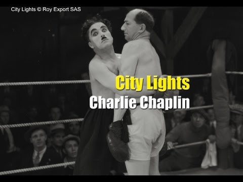Charlie Chaplin Boxing Scene - City Lights (1931)