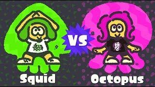 Go Team Squid - WITH FRIENDS! (Splatoon 2 Squid Vs Octopus Splatfest)