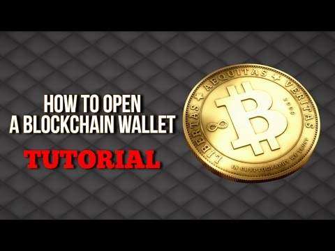 How to open a blockchain wallet   Gladiacoin Team