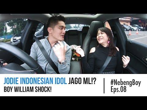 #NebengBoy Eps 08 - Jodie Indonesian Idol Jago ML!? Boy William Shock!