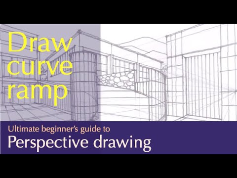 draw curve ramp in two point perspective by miandza - YouTube