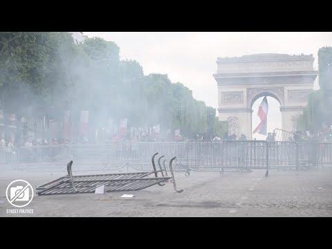 14 Juillet 2019 aux Champs-Elysées - Défilé militaire, Gilets Jaunes et victoire de l'Algérie