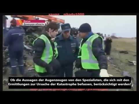MH17: Wichtige Wrackteile liegen gelassen! Absturzort waren Geheimdienste, keine Luftfahrtexperten!