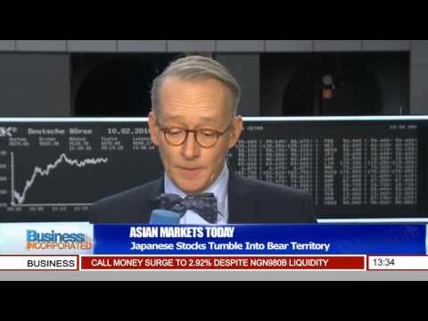 Business Incorporated: Japanese Stocks Tumble Into Bear Territory Pt.1
