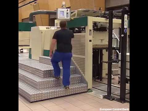 Money Printing Production European Central Bank