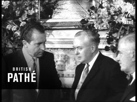 Nixon At No. 10 & Talking To Edward Heath (1969)