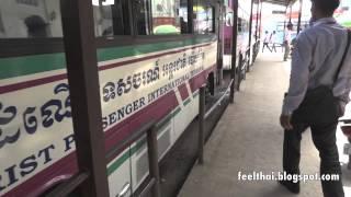 Free bus to Poipet terminal