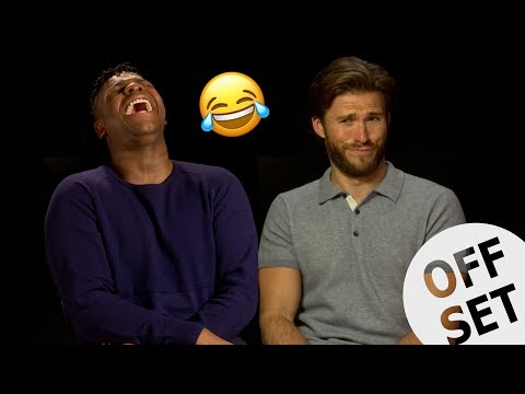 John Boyega and Scott Eastwood play SPECIFIC RIM!
